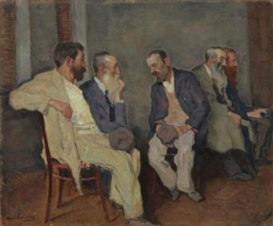 The Conversation, Lakhovsky (Public Domain)